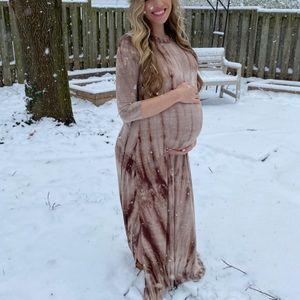 Maternity Tie Die Dress
